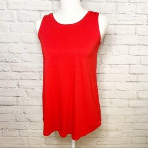 NWT Womens Swing fit tank top in Real Red size PP